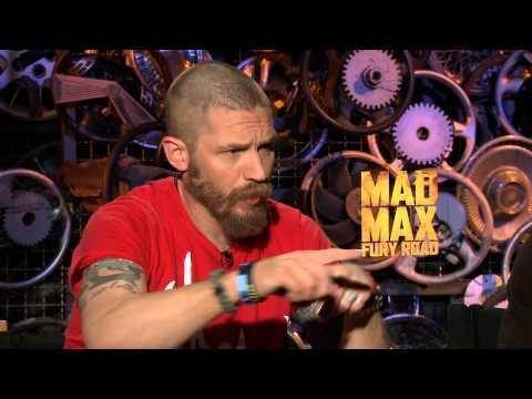 Tom Hardy interview - training for Mad Max Fury Road