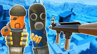 I Rocket Jump as TF2 Characters in Hot Dogs Horseshoes and Hand Grenades VR!