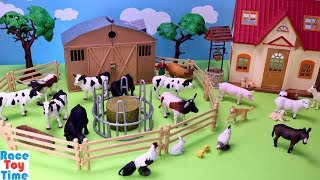 Farm Animals Terra Fun Toys For Kids