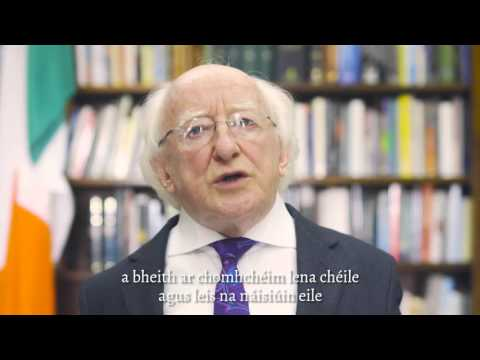Ireland 2016 // A word from Michael D. Higgins