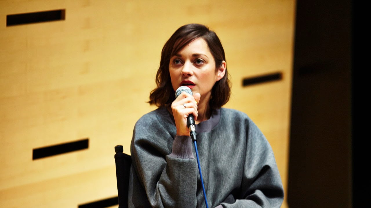 NYFF52 Live: Marion Cotillard | On Choosing Roles