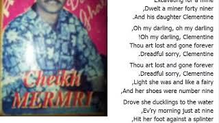 Cheikh Mermeri - Clementine ( Lyrics ) 2017 اجمل اغنية راي إنجليزية