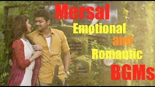 Mersal Full Emotional & Romantic BGM   Vijay, Samantha, Kajal   A R Rahman   Atlee