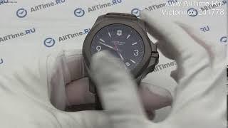 Обзор. Швейцарские титановые наручные часы Victorinox 241778
