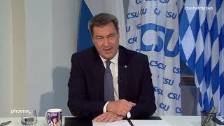 Rede von markus söder (parteivorsitzender, csu) anlässlich des ersten digitalen parteitages der csu am 22.05.20