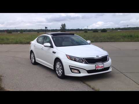Kia Optima Electronic Brakeforce Distribution EBD and Brake Assist System BAS