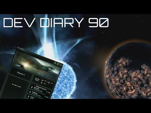 Stellaris - Dev Diary #90 - 1.9 Fleets Yards & Border Rework