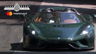Koenigsegg Regera wows in FOS debut