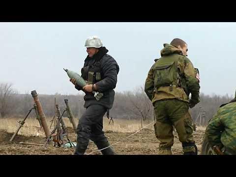 Оружие Новороссии: 120-мм миномёт