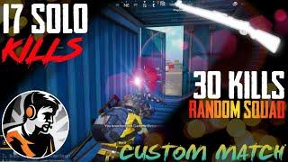 Random Squad    Dynamo Gaming    Custom Match #30kills