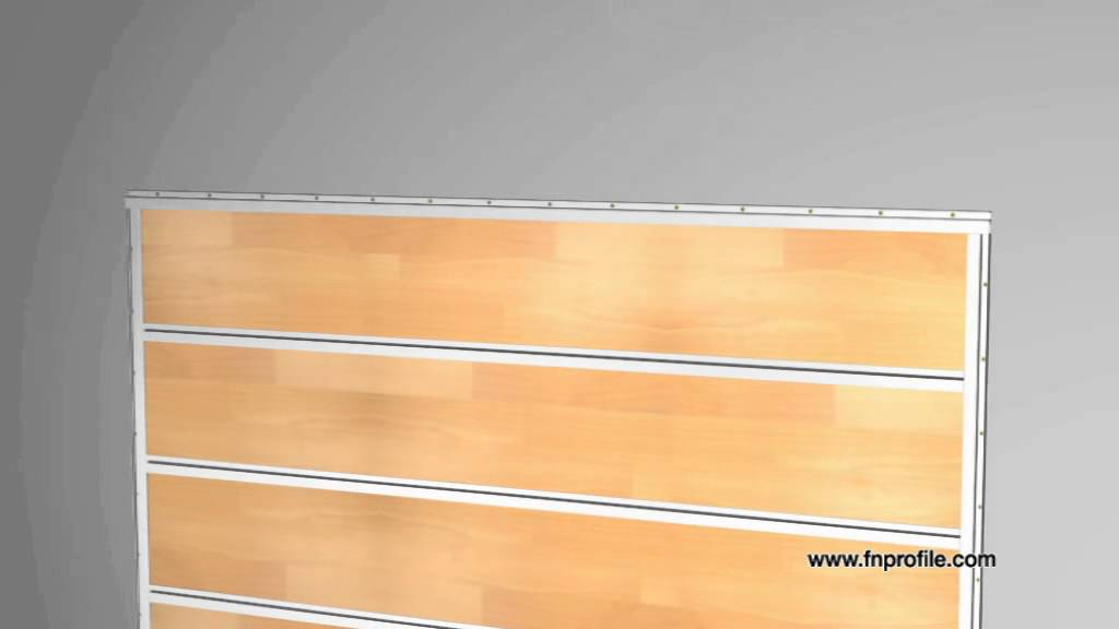 Deco Shelf Installation Von Laminat Oder Parkett An Der Wand Youtube