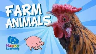 Aprende Inglés Los Animales De La Granja En Inglés Videos Educativos Para Niños Youtube