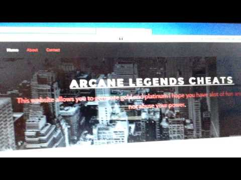 Arcane Legends Gold And Plat Hack