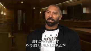 映画『007 スペクター』キャストインタビュー③ デイヴ・バウティスタ