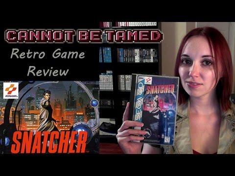 Snatcher (Sega CD) - Retro Gaming Review