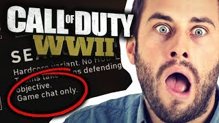 CALL OF DUTY WWII: FORCED GAME CHAT IS BACK!!!