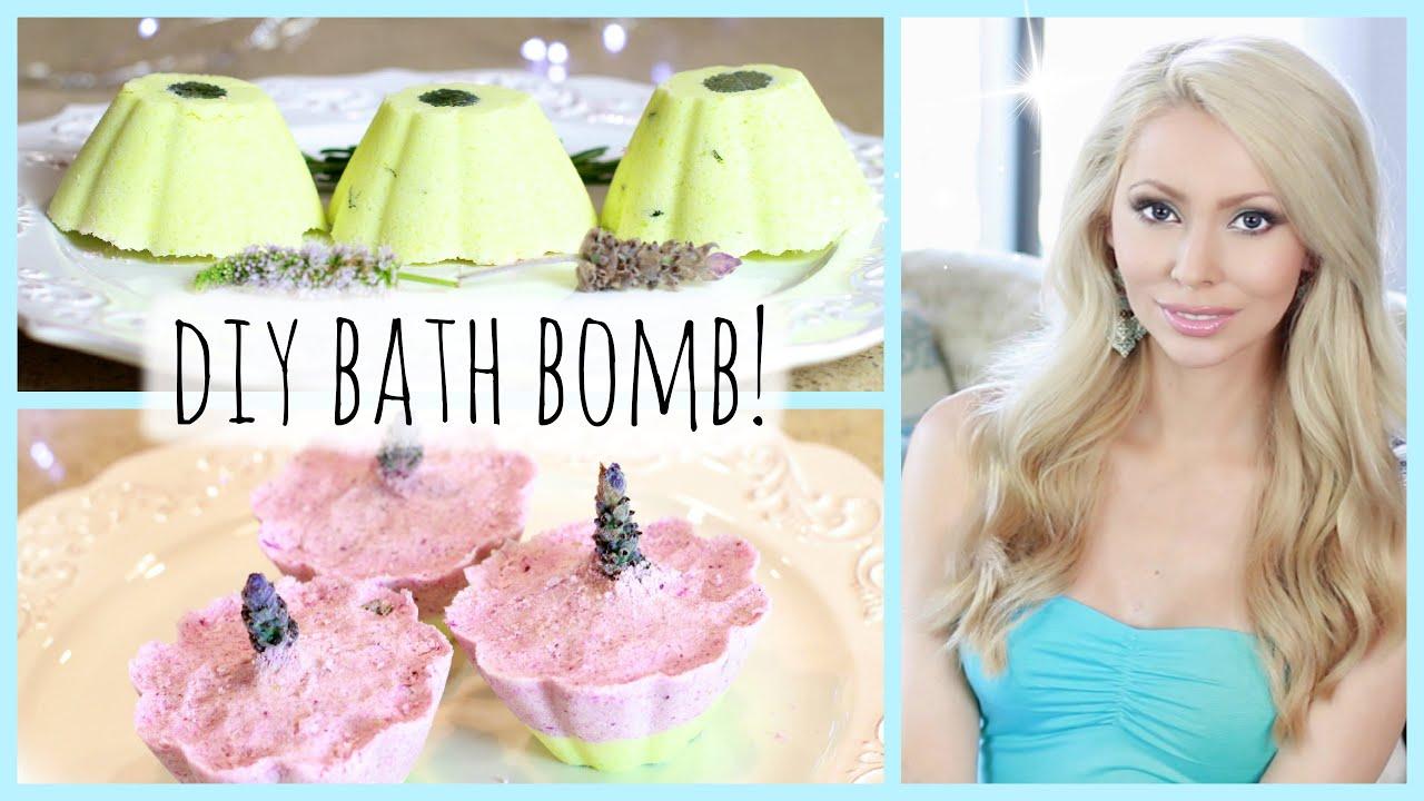 Diy how to make lush bath bombs youtube solutioingenieria Images