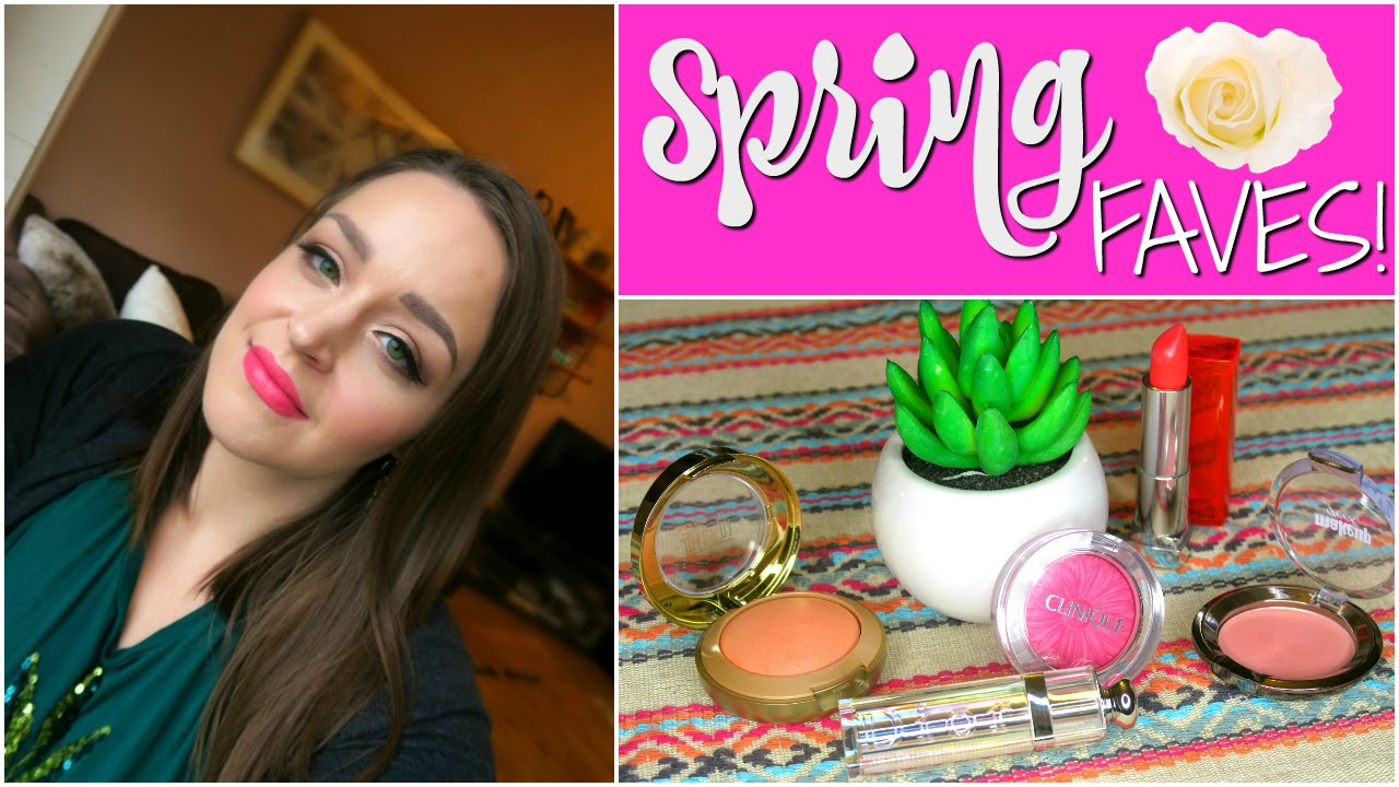 Spring Blush & Lipstick Faves! Collab with Penniless Posh!   DreaCN