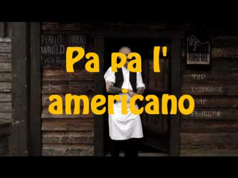 We no speak americano - Yolanda be cool (karaoke)