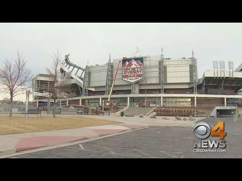 Web Extra: Sports Authority Signage Removed From Mile High Stadium