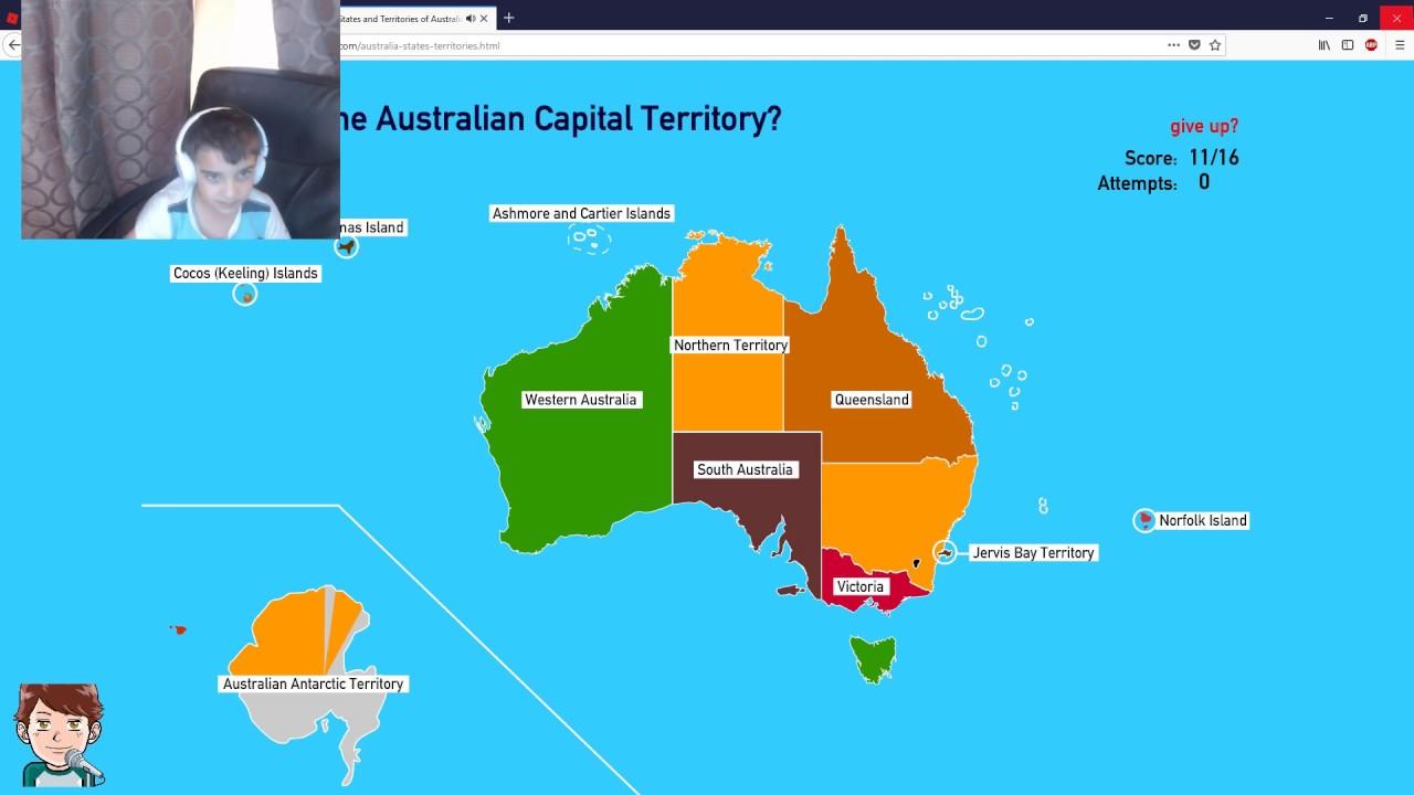 Australia Map States And Territories.States And Territories Of Australia