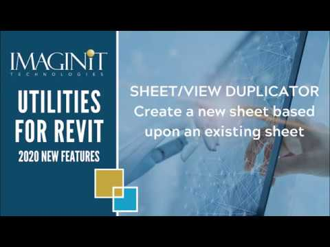 Utilities for Revit: Sheet View Duplicator