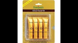 Banjara' Gold Facial  kit Review