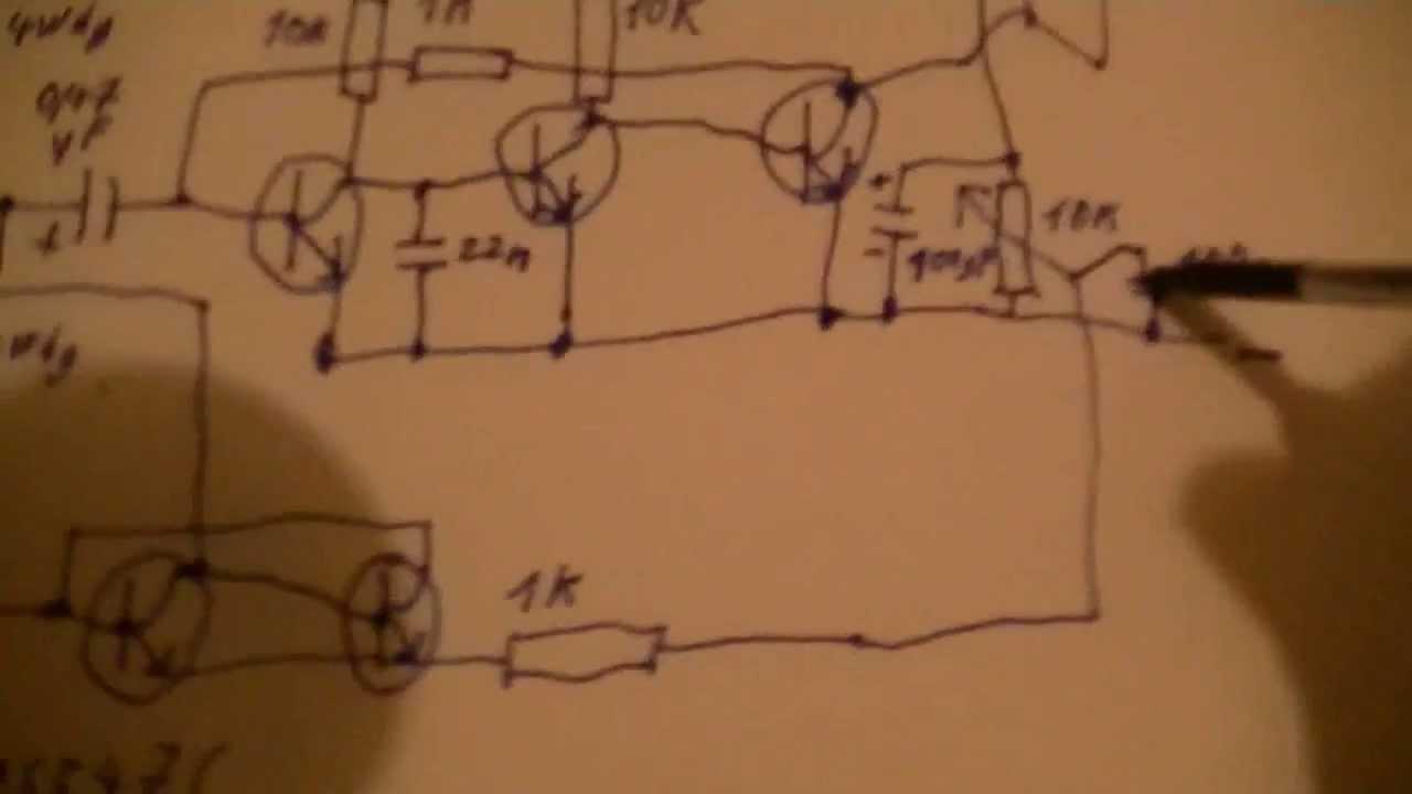 5 transistor kurzwellen am radio empf nger schaltplan selbstgebaut eflose 299 youtube [ 1280 x 720 Pixel ]
