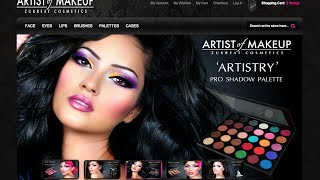 Artist of Makeup Cosmetics Online Launch www.ArtistofMakeup.com Thumbnail