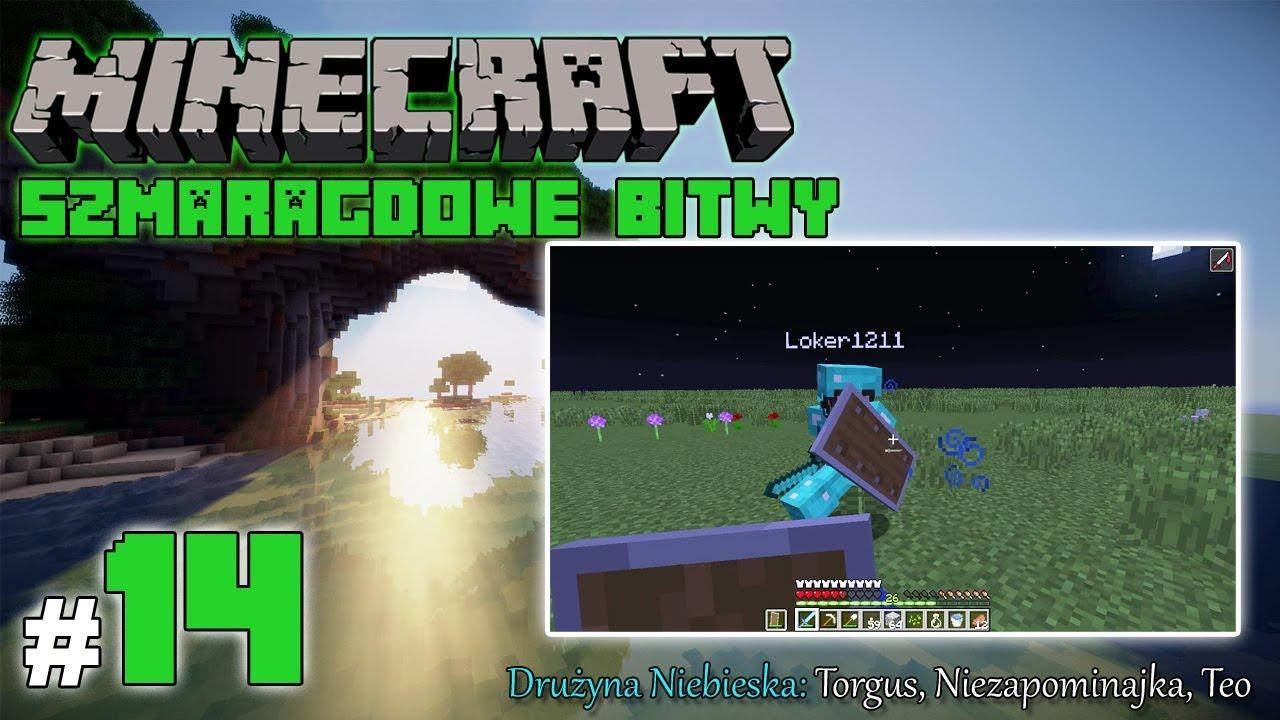 """Minecraft: Szmaragdowe Bitwy [Drużyna Niebieska] odc. 14 – """"Bitwa na spawnie"""""""
