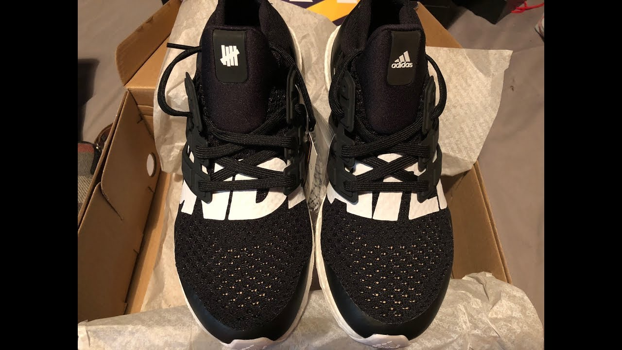1351face70a5 ADIDAS ULTRA BOOST 4.0 X UNDEFEATED SS2018 LIMITED (UNBOXING). Review Two