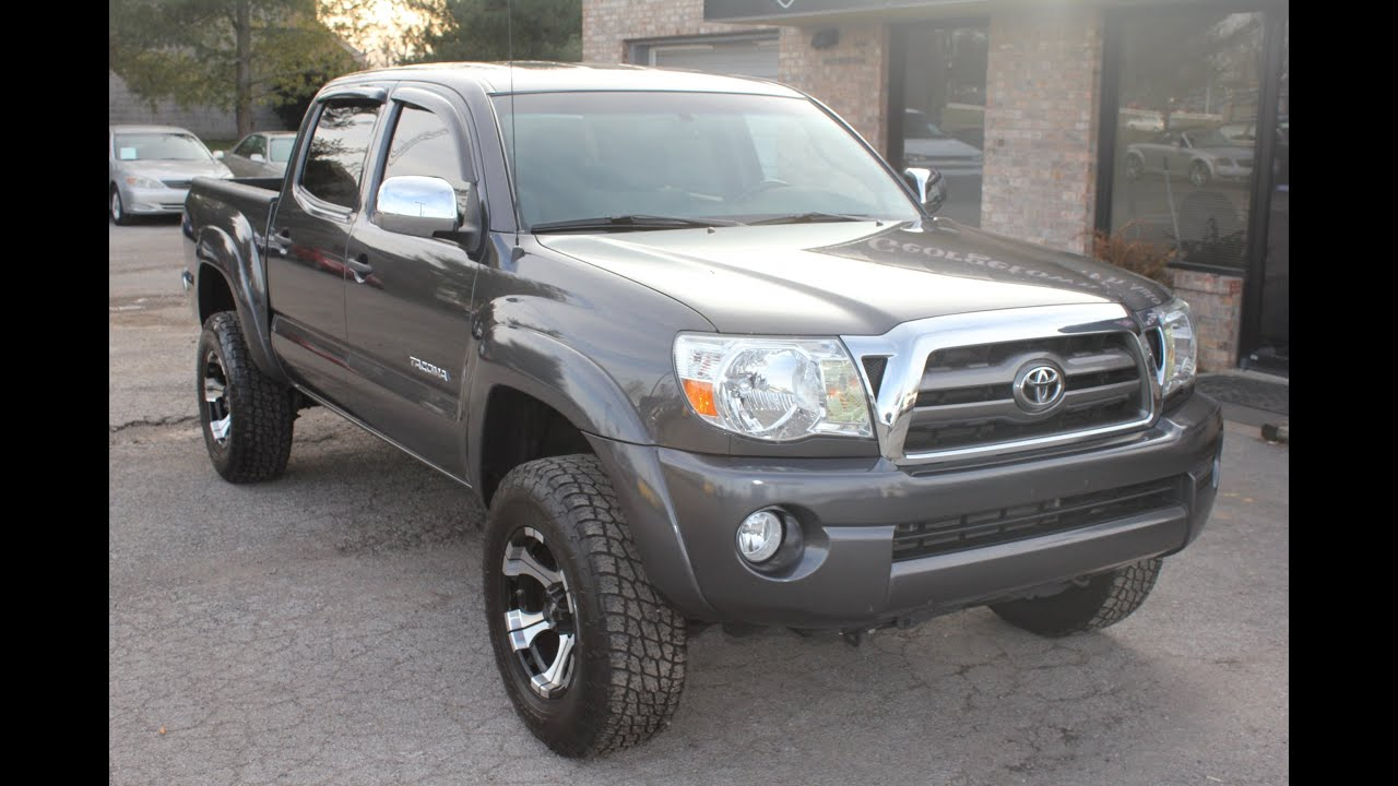 Used 2010 Toyota Tacoma SR5 4x4 double cab for sale Georgetown