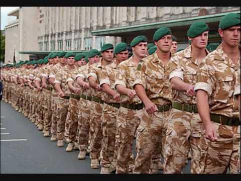 Royal Marines Commandos March - Sarie...