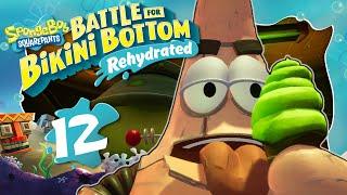 ROBO-PATRICK Boss Battle 🧽 SPONGEBOB: BATTLE FOR BIKINI BOTTOM REHYDRATED #12
