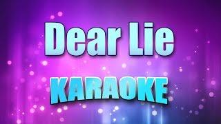 T.L.C. - Dear Lie (Karaoke & Lyrics)