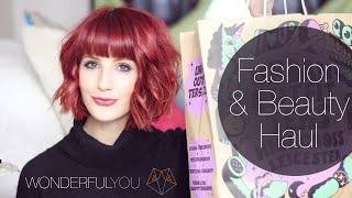 THE BASICS: FASHION & BEAUTY HAUL | Wonderful You