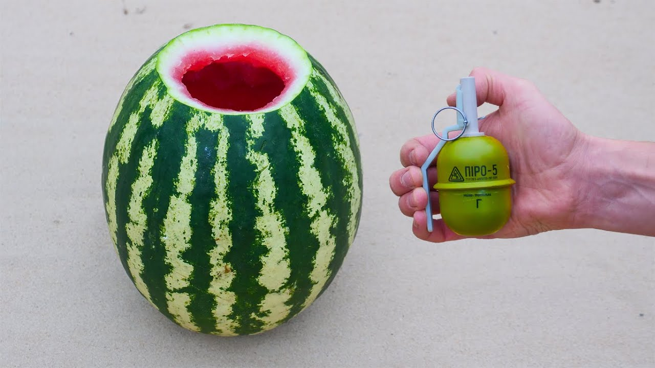 EXPERIMENT: How Strong Is The Watermelon