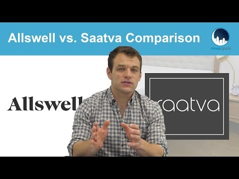 Allswell vs Saatva Mattress Comparison - Which Is the Bed for You?