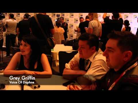 Scooby-Doo & KISS Grey Griffin Voice Of Daphne Blake SDCC 2015 Interview