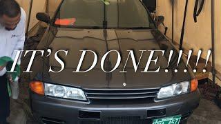 "MY SIX MONTHS D.I.Y TOTALED R32 SKYLINE ""GODZILLa""GTR RECONSTRUCTION!!!!"
