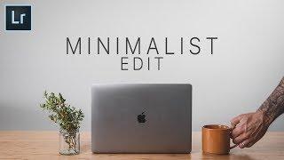 The WHITE Photo // Lightroom Minimalist Edit Tutorial