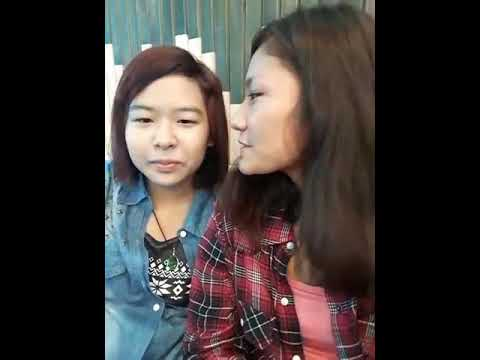 2nd Dating with my gf!!Kissing the cheek!