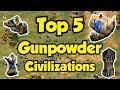 Top 5 Gunpowder Civs AoE2
