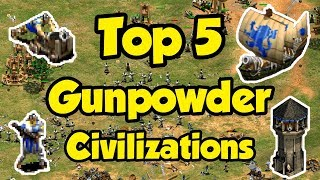 Top 5 Gunpowder Civs AoE2