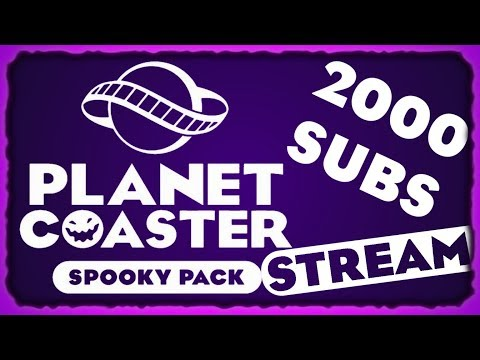 Exploring the Spooky DLC and is it worth it? | Planet Coaster Spooky Pack DLC Stream