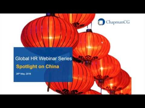 LIVE: ChapmanCG Webinar on HR in China
