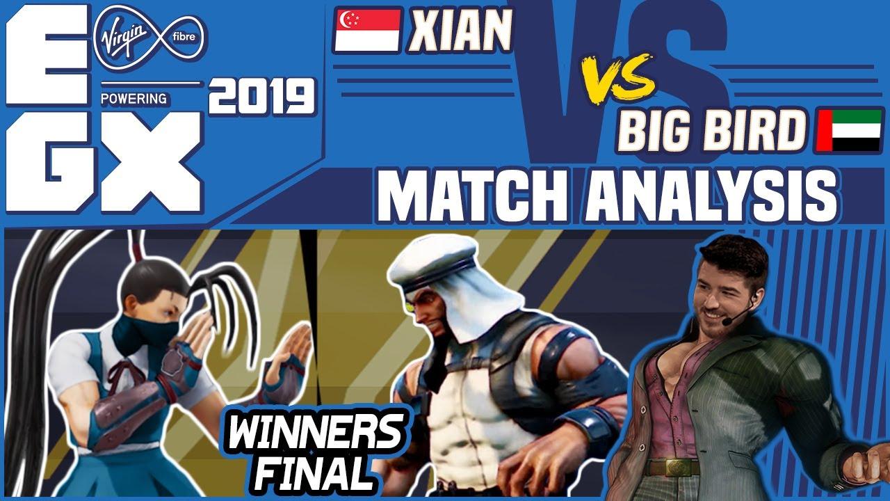 Sfv Tier List 2020.Sfv Ae Match Analysis Egx 2019 Top 8 Winners Final Xian Vs Big Bird