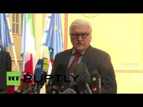 Germany: Founding EU members FMs meet in Berlin after shock Brexit vote