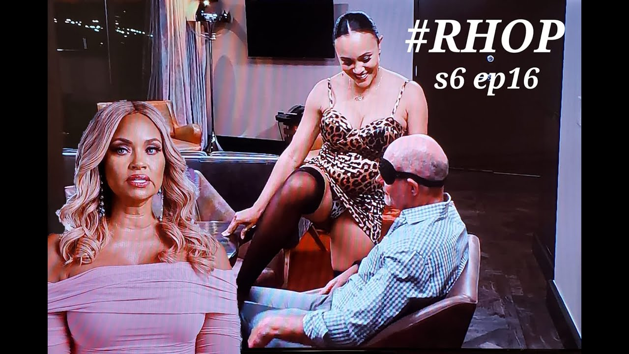 Michael LUSTING after Juan; Ashley...uh, not so much! Boxes of MOTH FLAKES from Karen. #RHOP s6 ep16