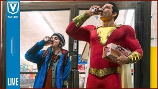 Variant LIVE: Shazam, Spider-Man Far From Home Trailers & More!